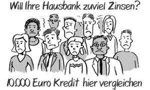 10000 Euro Kredit in Bar