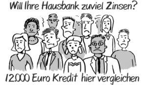 12000 Euro Kredit