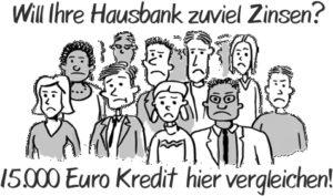 15.000 Euro Kredit in Bar
