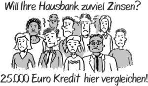 Sofort 25.000 Euro Kredit