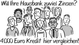 4000 Euro Kredit  Wer leiht privat Geld