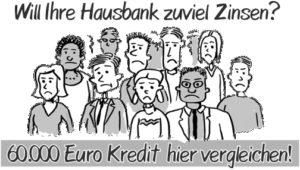 60000 Euro Kredit